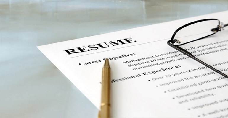 Get The Resume In Check  Resume Building